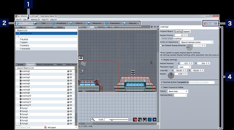 Screen Views and Basic Controls | Pixel Game Maker MV Help