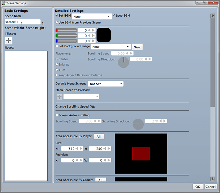 Adding Scenes | Pixel Game Maker MV Help