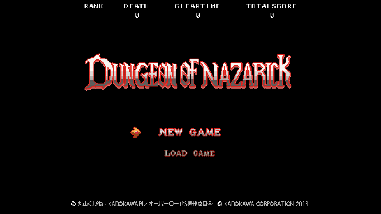ツクールシリーズ DUNGEON OF NAZARICK